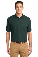 Port Authority Mens Silk Touch Polo Shirt Dark Green