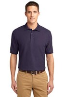 Port Authority Mens Silk Touch Polo Shirt Eggplant