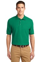 Port Authority Mens Silk Touch Polo Shirt Kelly Green