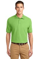 Port Authority Mens Silk Touch Polo Shirt Lime