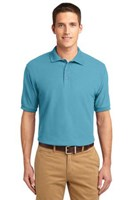 Port Authority Mens Silk Touch Polo Shirt Maui Blue