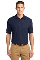 Port Authority Mens Silk Touch Polo Shirt Navy