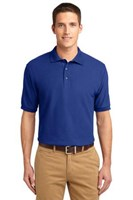 Port Authority Mens Silk Touch Polo Shirt Royal