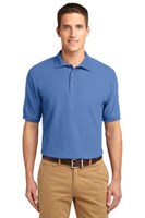 Port Authority Mens Silk Touch Polo Shirt Ultramarine Blue