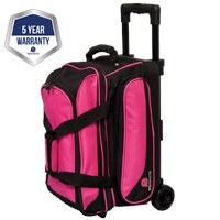 Ebonite Transport II Double Roller Pink Bowling Bags