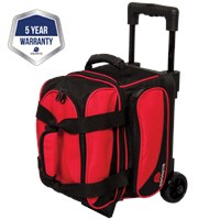 Ebonite Transport I Single Roller Red Bowling Bags