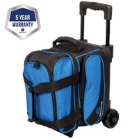 Ebonite Transport I Single Roller Blue Bowling Bags