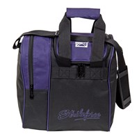KR Rook Single Tote Purple Bowling Bags
