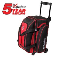 KR Eliminator 2 Ball Roller Red Bowling Bags