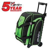 KR Eliminator 2 Ball Roller Lime Bowling Bags