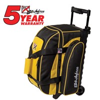 KR Eliminator 2 Ball Roller Yellow Bowling Bags
