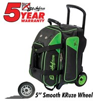 KR Lane Rover 2 Ball Roller (LR2) Black/Lime Bowling Bags