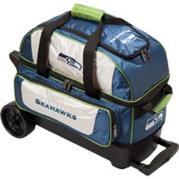 KR NFL 2 Ball Roller Seattle Seahawks Bowling Bags