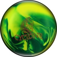 Ebonite Cyclone Green/Yellow Pearl Bowling Balls