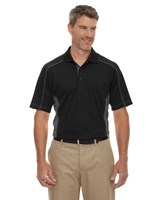Ash City Mens Fuse Polo Black