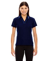 Ash City Womens Sonic Performance Polo Night/Light Nautical Blue