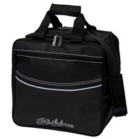 KR Kolors Single Tote Black Bowling Bags