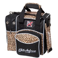 KR Flexx Single Tote Leopard Bowling Bags