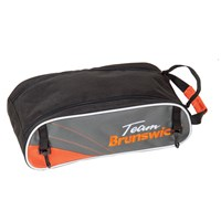 Brunswick Team Brunswick Shoe Bag Slate/Orange Bowling Shoes