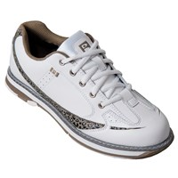 Brunswick Womens Curve White/Leopard Bowling Shoes