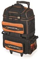 Storm Streamline 4 Ball Roller Black/Orange Bowling Bags