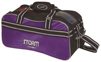Storm 2 Ball Tote Black/Purple Bowling Bags
