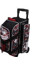 Roto Grip 2 Ball Roller Black/Red Camo Bowling Bags