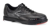 Dexter Mens THE 9 Black/Crocodile Wide Width Bowling Shoes