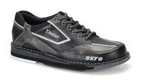 Dexter Mens SST 6 LZ Black/Alloy Right Hand Bowling Shoes