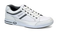 Dexter Mens Keegan White/Grey Right Hand Bowling Shoes