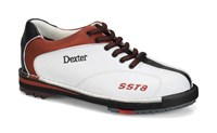 Dexter Womens SST 8 LE White/Red/Black RH or LH Wide Width Bowling Shoes