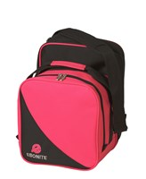 Ebonite Compact Single Pink/Black Bowling Bags