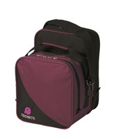 Ebonite Compact Single Purple/Black Bowling Bags