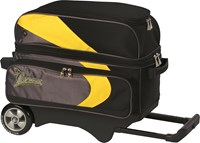 Track Premium Player 2 Ball Roller Yellow/Grey Bowling Bags
