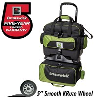 Brunswick Razor 4 Ball Roller Black/Lime Bowling Bags