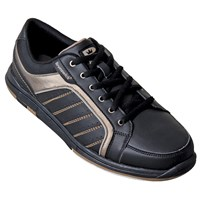 Brunswick Mens Captain Black/Gold Bowling Shoes