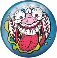 Brunswick Madballs Screamin Meemie Viz-A-Ball Bowling Balls