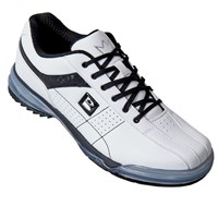 Brunswick Mens TPU X LE White/Black Right Hand Bowling Shoes