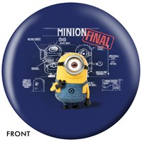 OnTheBallBowling Despicable Me Minions & Blueprint Bowling Balls