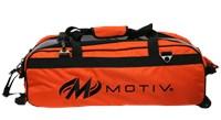 Motiv Ballistix Triple Tote/Roller Orange