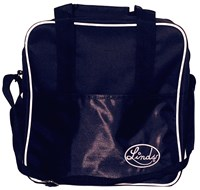 Linds Basic Single Tote Black Bowling Bags