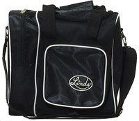 Linds Deluxe Single Tote Blk/Black Bowling Bags