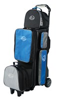 Linds Pro Line 3-4-5 Deluxe Roller Black/Blue/Grey Bowling Bags