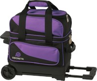 Ebonite Transport I Single Roller Purple LE Bowling Bags