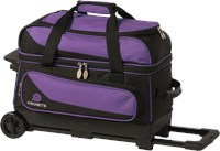 Ebonite Transport II Double Roller Purple LE Bowling Bags