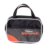 Brunswick Team Brunswick Accessory Bag Slate/Orange Bowling Bags