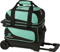 Ebonite Transport I Single Roller Teal Bowling Bags