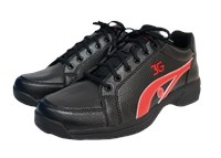 3G Unisex Sneaks Black/Red Right Hand Bowling Shoes