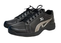 3G Unisex Sneaks Black/Gray Right Hand Bowling Shoes