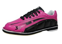 3G Womens Tour Ultra Black/Pink Right Hand Bowling Shoes